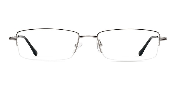 Minneapolis Gunmetal Metal Eyeglass Frames