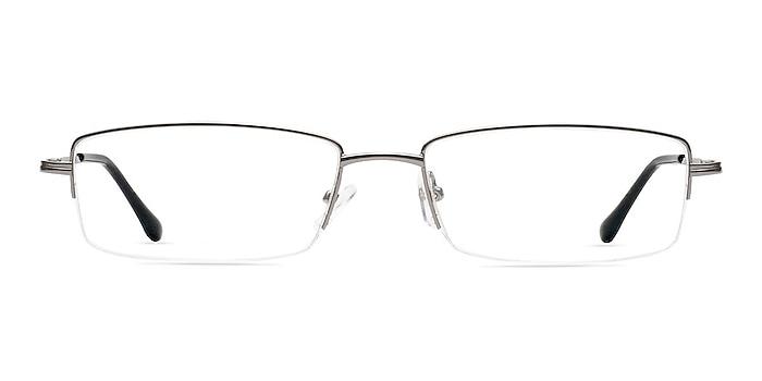 Minneapolis Gunmetal Metal Eyeglass Frames from EyeBuyDirect