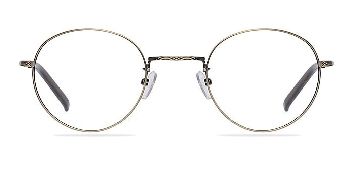 Amsterdam Bronze Metal Eyeglass Frames from EyeBuyDirect