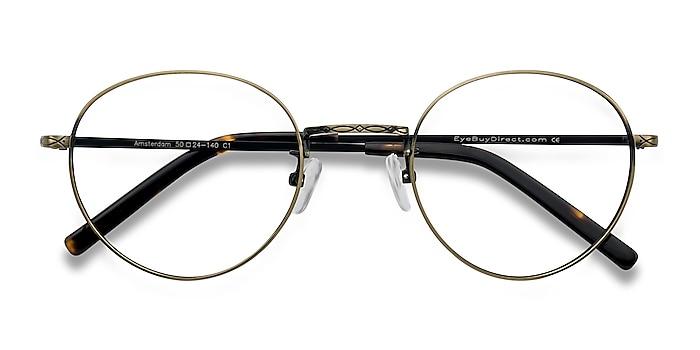 Bronze Amsterdam -  Vintage Metal Eyeglasses