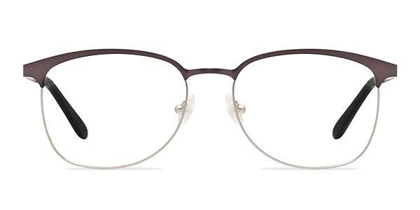 Dancer Gunmetal/Silver Metal Eyeglass Frames