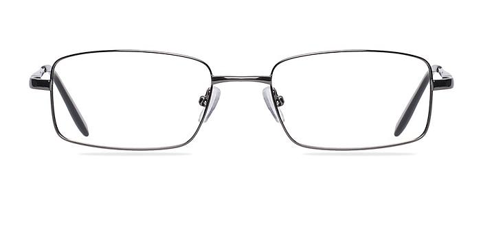 Oakland Gunmetal Métal Montures de lunettes de vue d'EyeBuyDirect