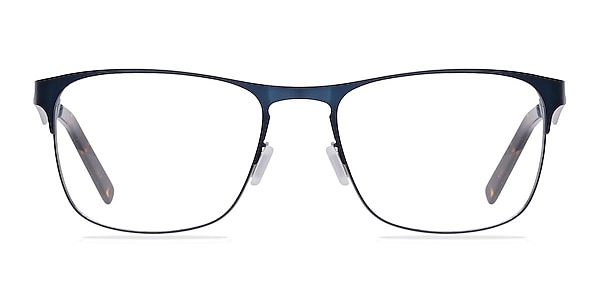 Bethnal Green Navy Metal Eyeglass Frames