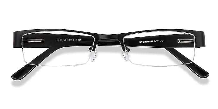 Black Bud -  Acetate, Metal Eyeglasses