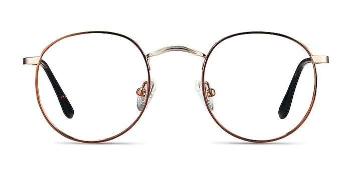 Daydream Brown Golden Metal Eyeglass Frames from EyeBuyDirect
