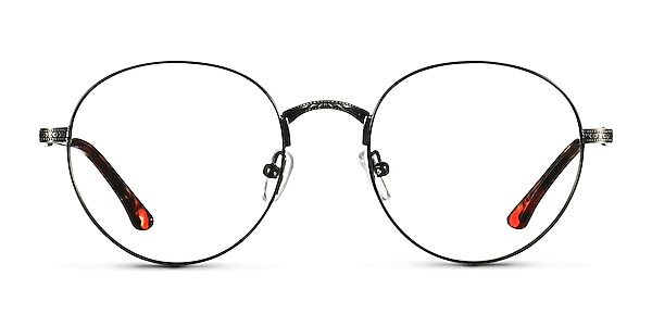 Fitzgerald Black & Tortoise Metal Eyeglass Frames
