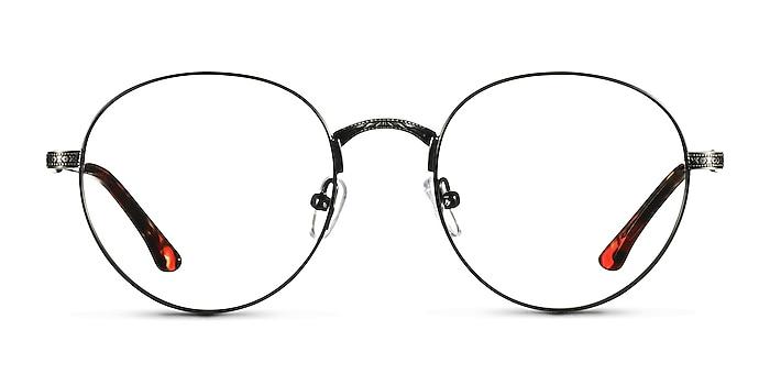 Fitzgerald Black & Tortoise Metal Eyeglass Frames from EyeBuyDirect