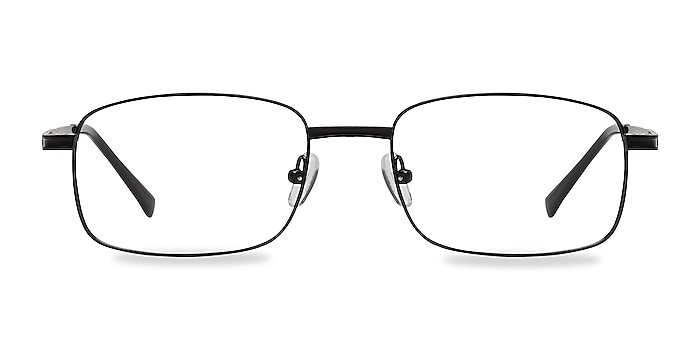 Jerauld Black Metal Eyeglass Frames from EyeBuyDirect