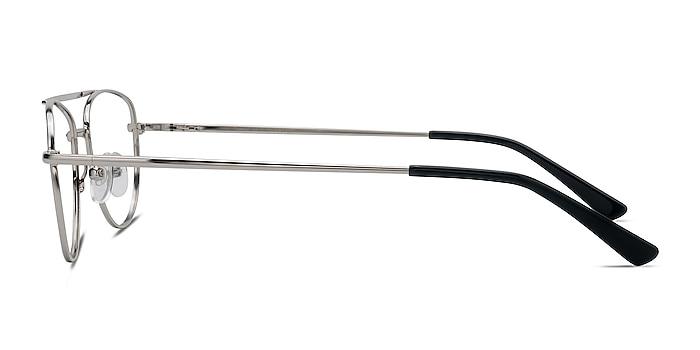 Tasker Argenté Métal Montures de lunettes de vue d'EyeBuyDirect