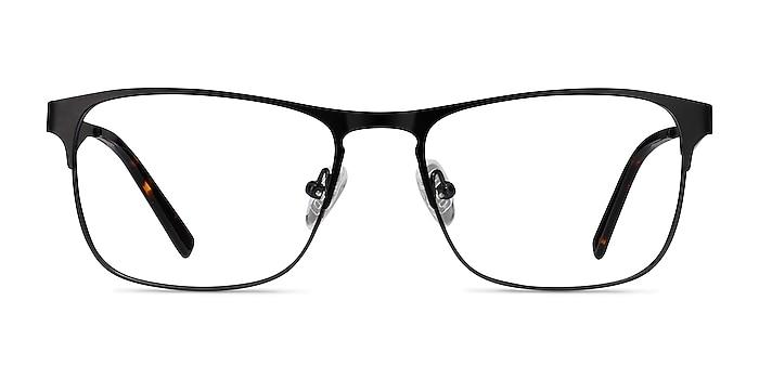 Bethnal Green Black Metal Eyeglass Frames from EyeBuyDirect