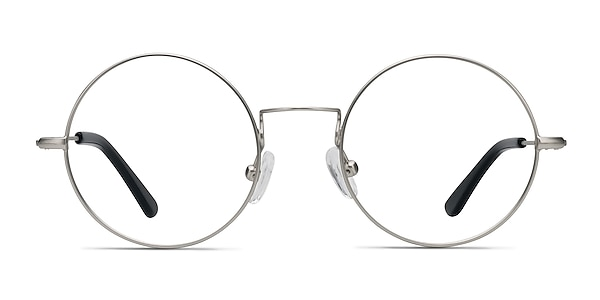 Someday Silver Metal Eyeglass Frames