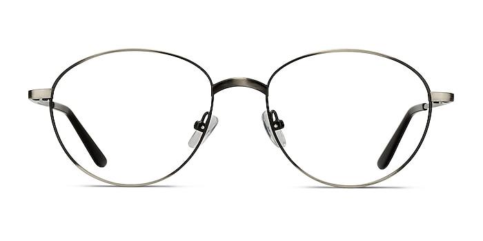 Nara Gunmetal Metal Eyeglass Frames from EyeBuyDirect