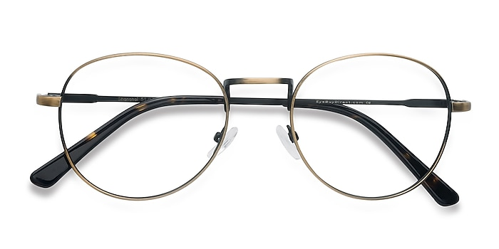 Bronze Shanghai -  Vintage Metal Eyeglasses