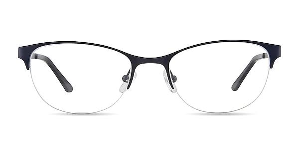 Melody Navy Metal Eyeglass Frames