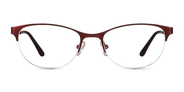 Melody  Red  Metal Eyeglass Frames from EyeBuyDirect