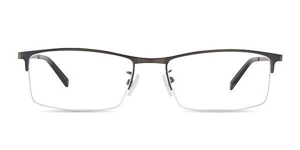 Vega Gunmetal Metal Eyeglass Frames