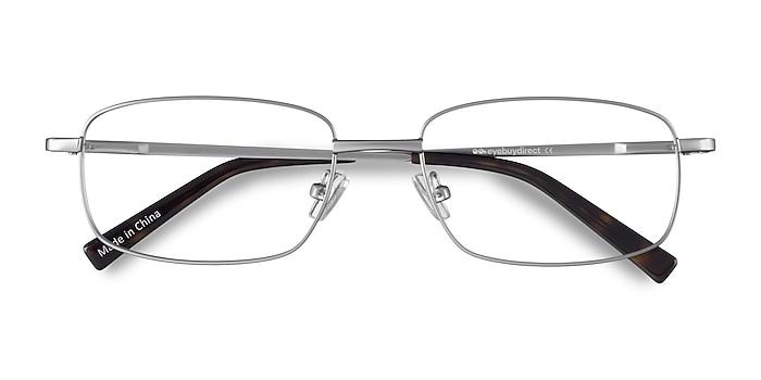 Silver Bryce -  Lightweight Metal Eyeglasses