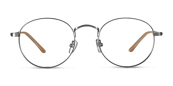 Cupertino  Silver  Métal Montures de lunettes de vue