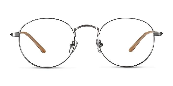 Cupertino  Silver  Métal Montures de lunettes de vue d'EyeBuyDirect
