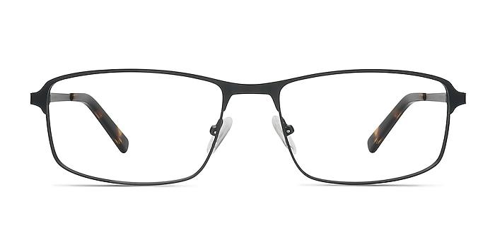 Capacious Black Metal Eyeglass Frames from EyeBuyDirect