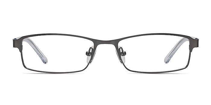 Olsen Gunmetal Metal Eyeglass Frames from EyeBuyDirect