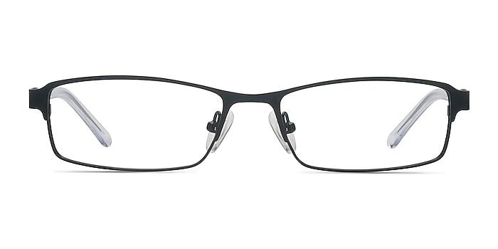 Olsen Black Metal Eyeglass Frames from EyeBuyDirect