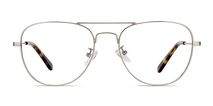 Harrier Gunmetal Metal Eyeglass Frames from EyeBuyDirect