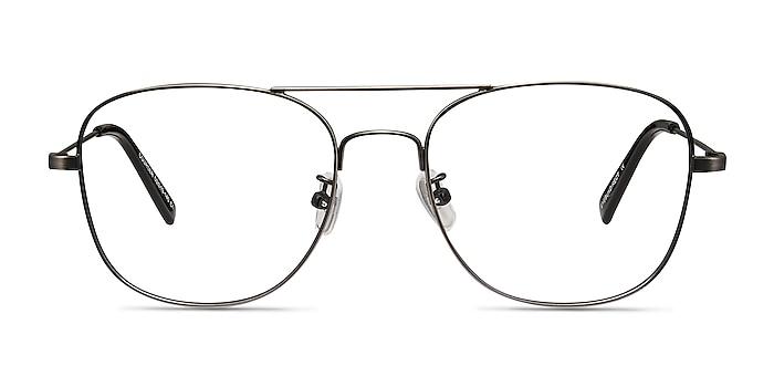 Courser Gunmetal Metal Eyeglass Frames from EyeBuyDirect