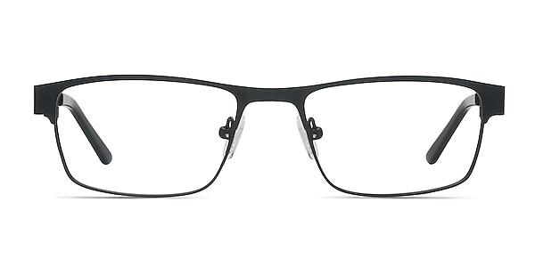 Java Black Metal Eyeglass Frames