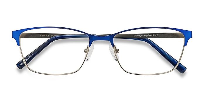 Blue Cascade -  Lightweight Metal Eyeglasses