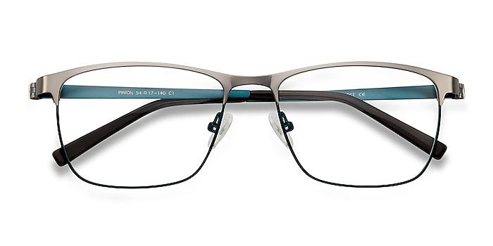 Gunmetal Pinion -  Lightweight Metal Eyeglasses