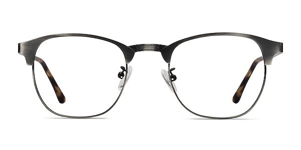 Ferrous Gunmetal Metal Eyeglass Frames