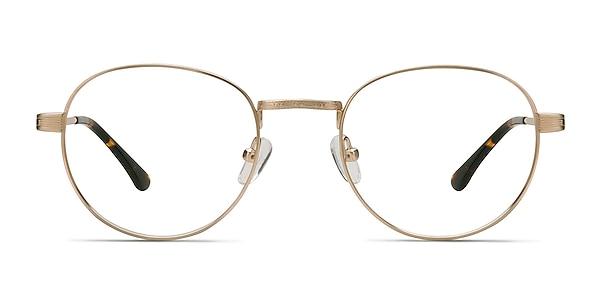 Belleville Golden Metal Eyeglass Frames