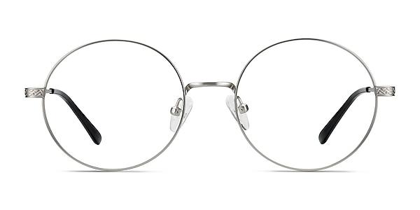 Inscription Argenté Métal Montures de lunettes de vue