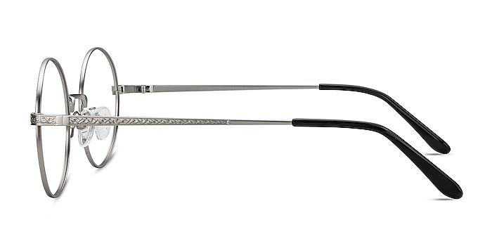 Inscription Silver Metal Eyeglass Frames from EyeBuyDirect