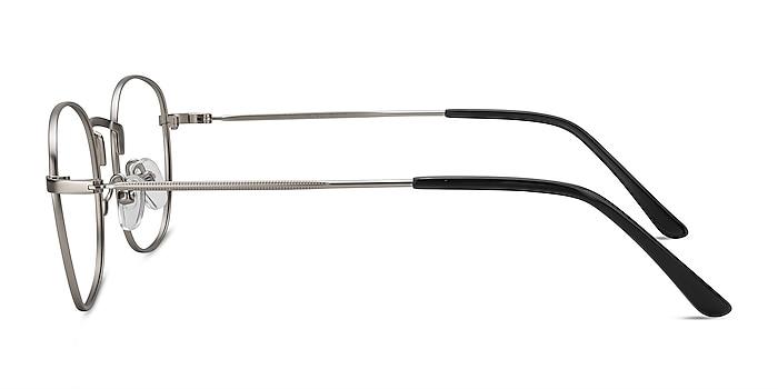 Suspense Argenté Métal Montures de lunettes de vue d'EyeBuyDirect