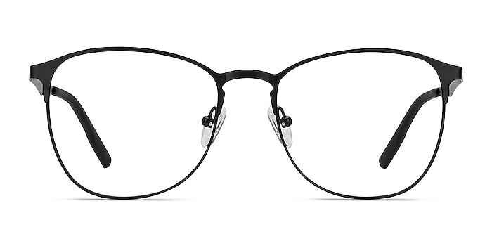 Ember Matte Black Metal Eyeglass Frames from EyeBuyDirect