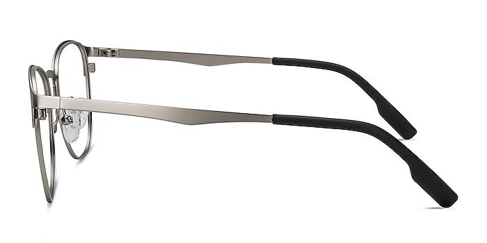 Ember Argenté Métal Montures de lunettes de vue d'EyeBuyDirect