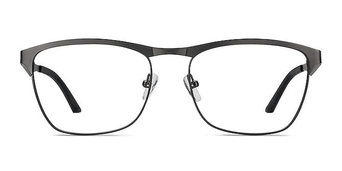Foundry Gunmetal Metal Eyeglass Frames from EyeBuyDirect