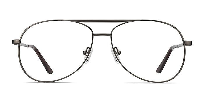 Discover Gunmetal Metal Eyeglass Frames from EyeBuyDirect