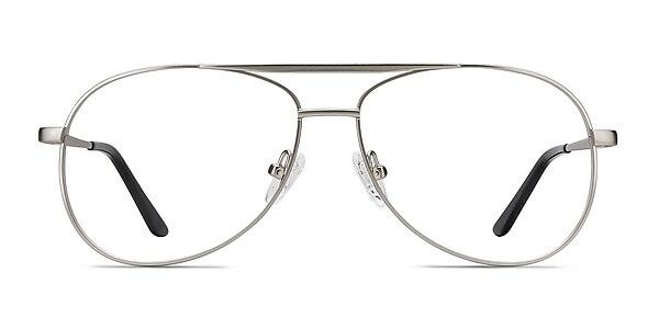 Discover Matte Silver Métal Montures de lunettes de vue