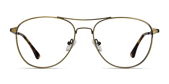 Westbound Bronze Metal Eyeglass Frames from EyeBuyDirect