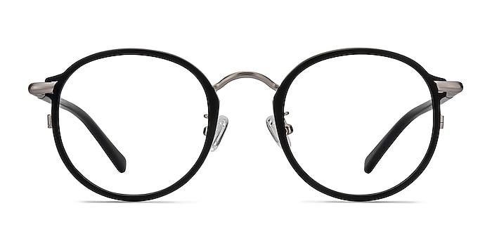 Carnival Matte Black Plastic-metal Eyeglass Frames from EyeBuyDirect