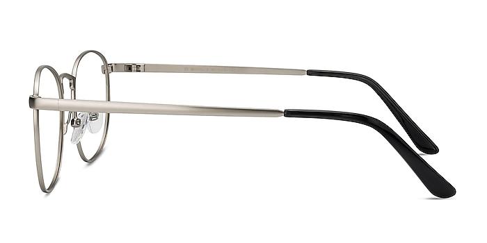 St Michel Argenté Métal Montures de lunettes de vue d'EyeBuyDirect