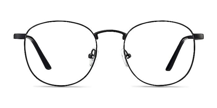 St Michel Black  Metal Eyeglass Frames from EyeBuyDirect