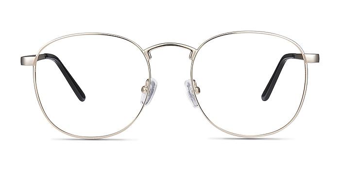 St Michel Golden Metal Eyeglass Frames from EyeBuyDirect