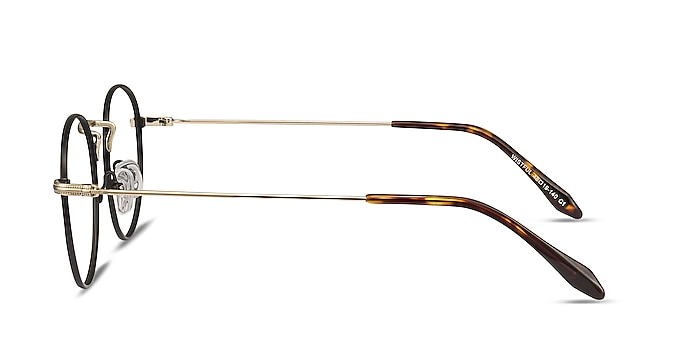 Wistful Black Metal Eyeglass Frames from EyeBuyDirect