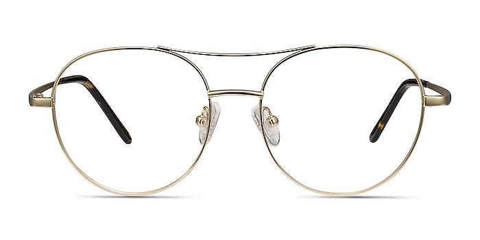 Cassini Golden Métal Montures de lunettes de vue d'EyeBuyDirect
