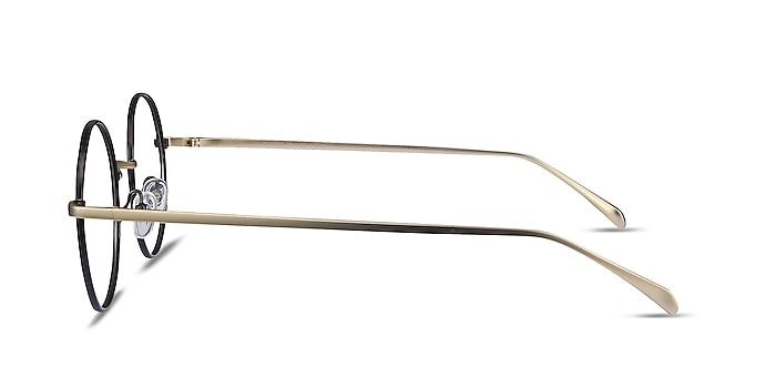 Synapse Noir Métal Montures de lunettes de vue d'EyeBuyDirect