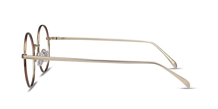 Synapse Marron Métal Montures de lunettes de vue d'EyeBuyDirect